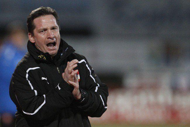 Werner Gregoritsch hat seinen Kader nominiert.