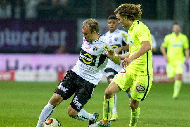Die Wiener Austria muss im Cup gegen Altach ran.