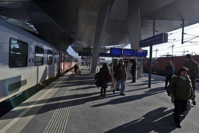 Neuer ÖBB-Fahrplan: Der Hauptbahnhof wird bessere Anbindungen bringen