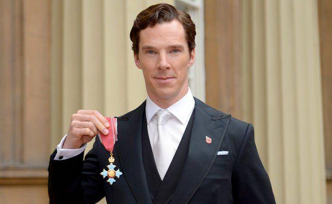 Benedict Cumberbatch wurde von der Queen geehrt.