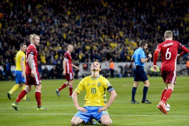 SChweden und Ukraine konnten im PLay-Of-Hinspiel Siege einfahren.