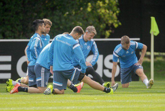 Die DFB-Auswahl wird wieder ins Trainingslager in der Schweiz einrücken.