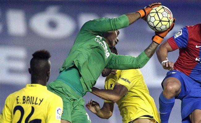 Villarreals Einsergoalie Alphonse Aréola könnte gegen Rapid wieder pausieren.