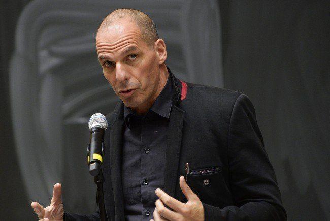 Varoufakis attackierte auf Wiener Bühne die EU-Politik