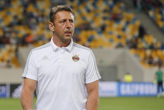 Zoran Barišić fordert von seiner Mannschaft mehr Zug zum Tor.