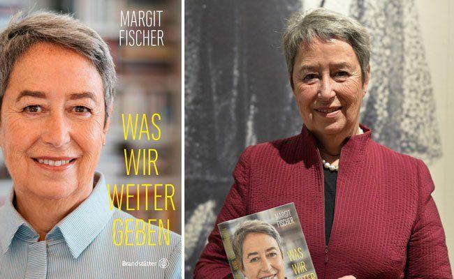 """Margit Fischer präsentiert ihr Buchdebüt: """"Was wir weitergeben"""""""