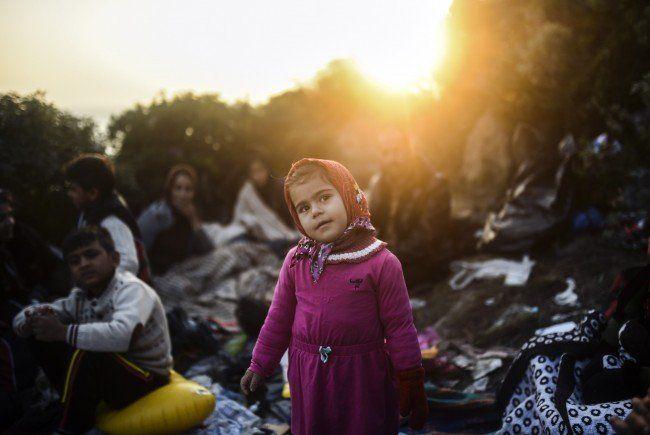 Eine Afghanin brachte ein gesundes Mädchen in Spielfeld zur Welt.