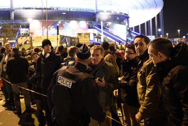 Am Freitag gab es zwei Explosionen unweit des Stade de France in Paris.
