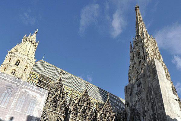 Im Wiener Stephansdom findet ein Benefizkonzert statt