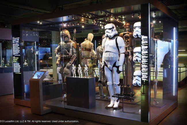 """Ab dem 18. Dezember 2015 ist die Ausstellung """"Star Wars Identities"""" im Wiener MAK zu sehen."""