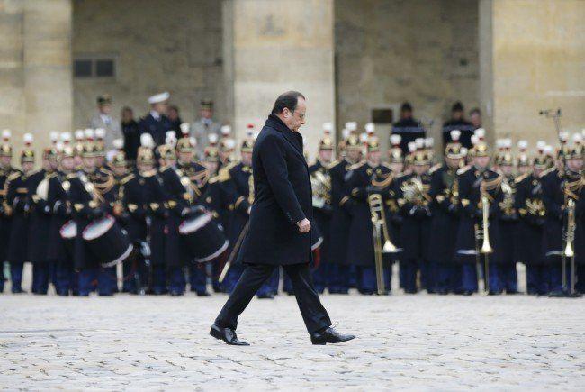 Frankreich trauert um die Terroropfer vom 13. November 2015