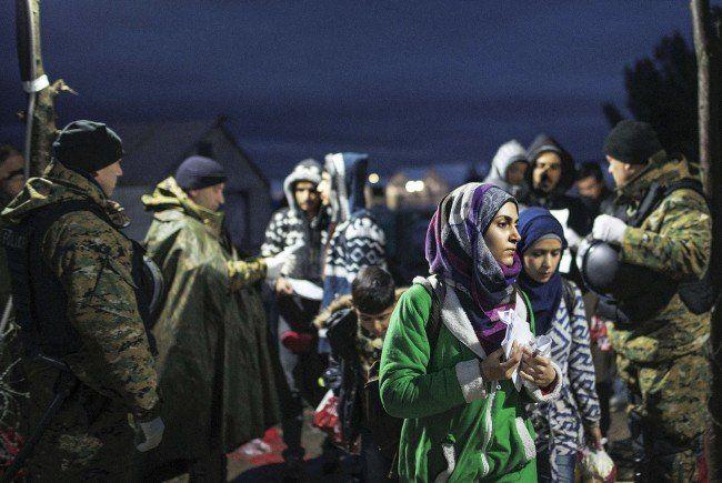 Harte Haltung in der Flüchtlingskrise