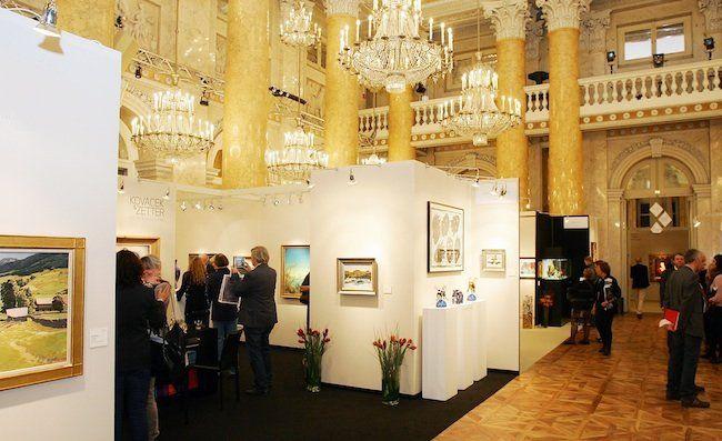 Die 47. Art&Antique wurde in der Wiener Hofburg eröffnet