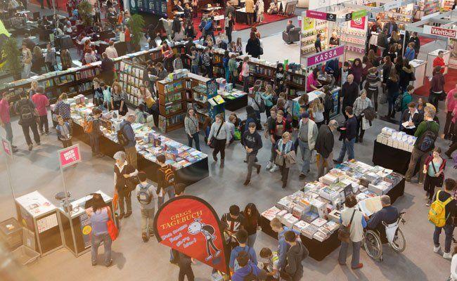 Besucherrekord auf der Buch Wien.