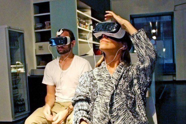 """Am 7. November eröffnet die Virtual Reality Loung """"vrei"""" ihre Tore in Wien."""