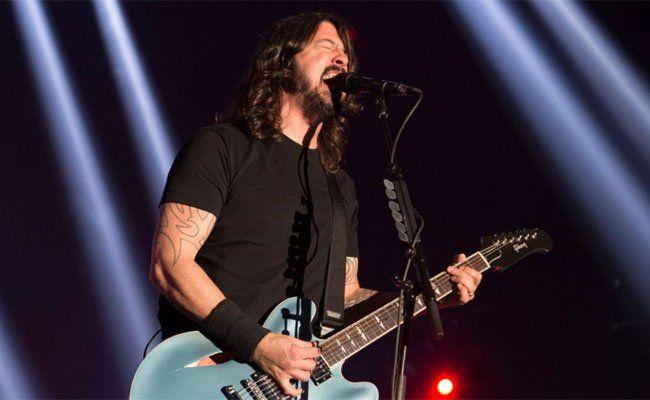 15.800 Fans feierten die Foo Fighters bei ihrem Wien-Konzert.