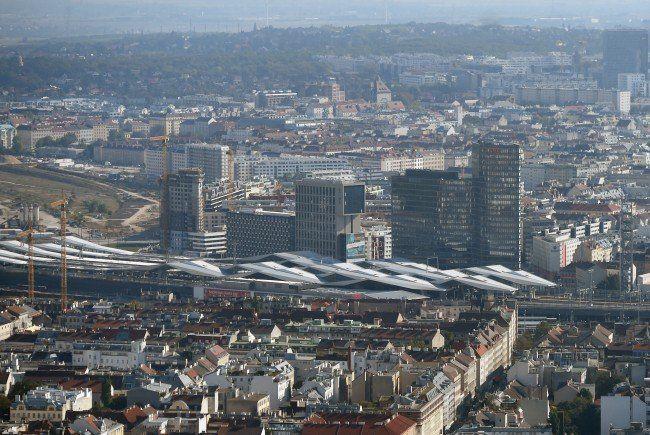 Die ÖBB erhielt den Public Relations Preis für das Projekt Hauptbahnhof.