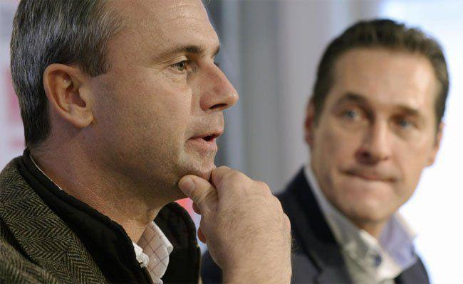 """Strache könnte sich Norbert Hofer als Kandidaten """"vorstellen""""."""