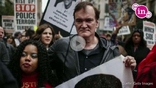 Quentin Tarantino hat sich mit seinem klaren Statement nicht nur Freunde gemacht.