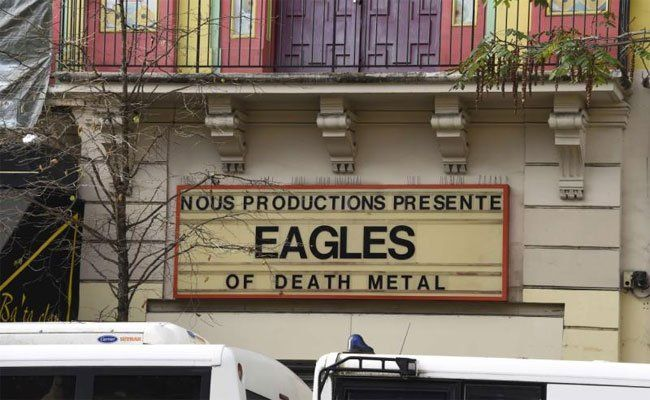 Die White Miles spielten als Vorband der Eagles of Death Metal.