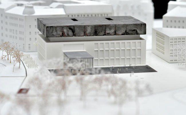 Ein Modell des geplanten neuen Wien Museums.