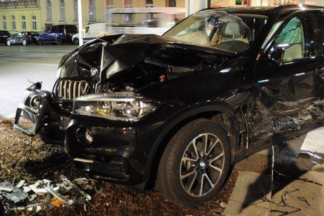 Eines der beiden Unfallfahrzeuge.