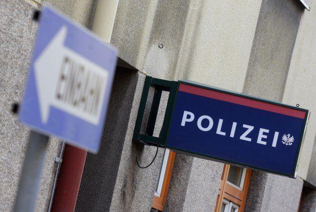 Fahndung der Polizei.