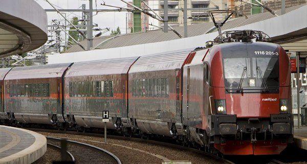 Der Railjet-Zugverkehr nach München startet wieder.