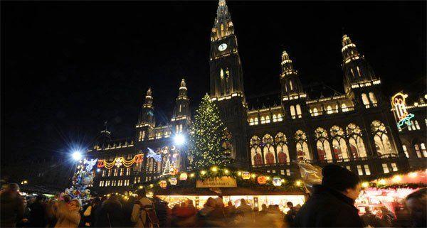 Die feierliche Beleuchtung des Christbaums wurde vorerst abgesagt.