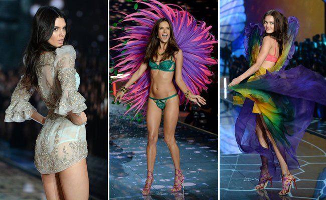 Die Victoria's Secret-Show zeigte sich diesmal besonders bunt.