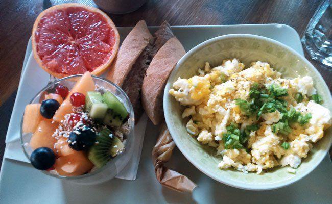 Im Cafe Siebenstern lässt sich's frühstücken.