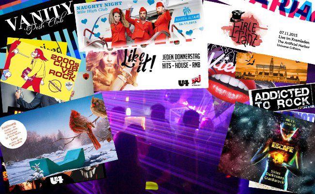 Allerhand Partys beschert uns unser geliebtes Wien kommendes Wochenende wieder