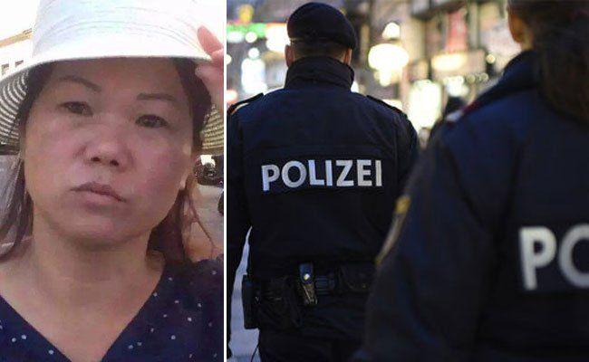 Die Polizei sucht nach dieser Verdächtigen.