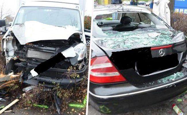 Wien: Mehrere verletzte Personen bei Verkehrsunfällen