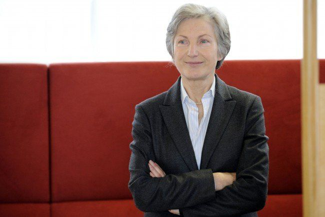Irmgard Griss tritt zur Wahl des neuen Bundespräsidenten an.