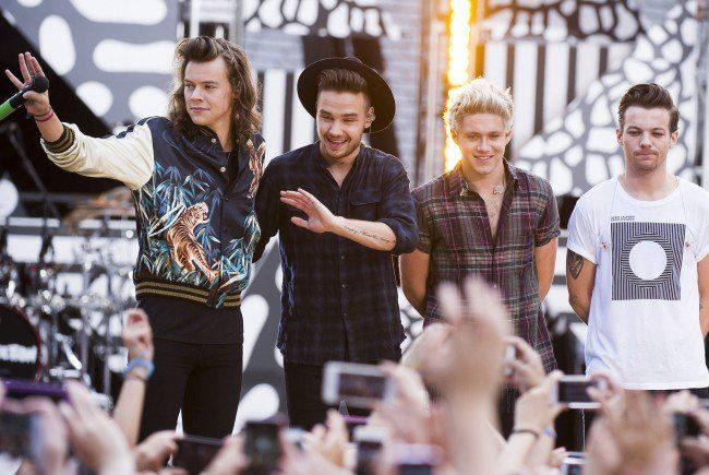 One Direction verabschieden sich für unbestimmte Zeit.