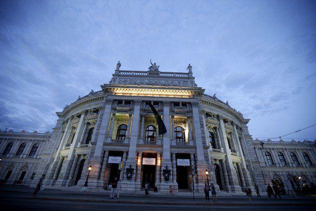 Das Burgtheater in Wien.