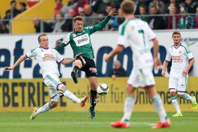 LIVE-Ticker zum Spiel SK Rapid Wien gegen SV Ried ab 18.30 Uhr.