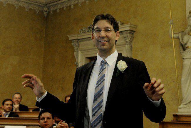 Markus Figl ist neuer Bezirksvorsteher der Inneren Stadt.