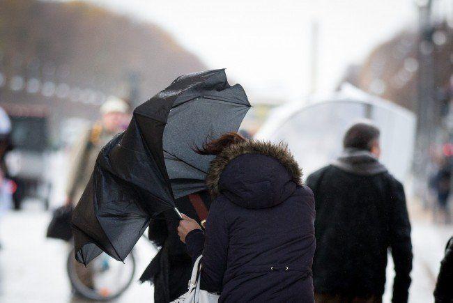 Sturmtief zieht über Österreich