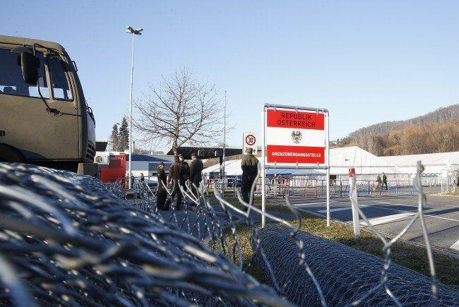 Der Grenzübergang Spielfeld wird wieder geöffnet.