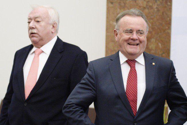 Dicke Luft zwischen Michael Häupl und Hans Niessl.