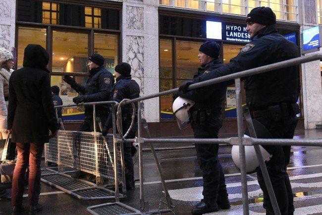 Die FPÖ will von einem Gitter-Mangel bei der Wiener Polizei gehört haben.