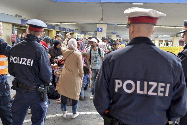 Die 17-Jährige wurde am 5.12. am Wiener Westbahnhof festgenommen.