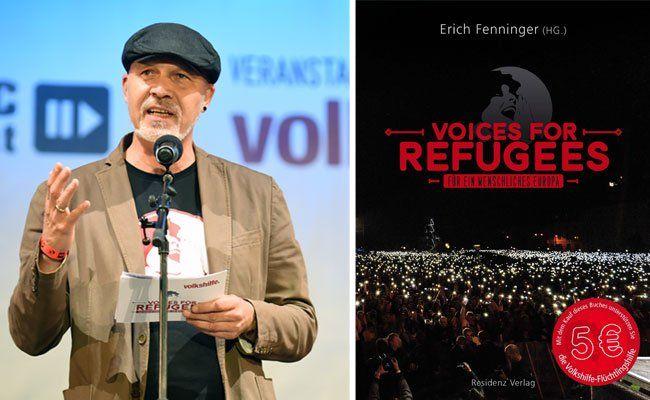 Erich Fenninger (Volkshilfe Direktor) hat ein Buch über Flüchtlingshilfe herausgegeben