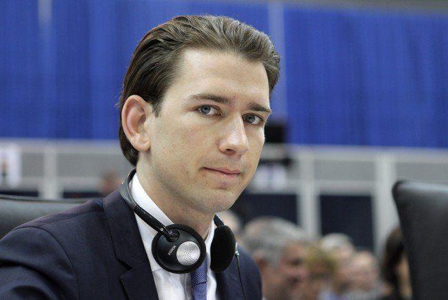 Integrationsminister Sebastian Kurz steht in der Kritik der Deutschlehrer.
