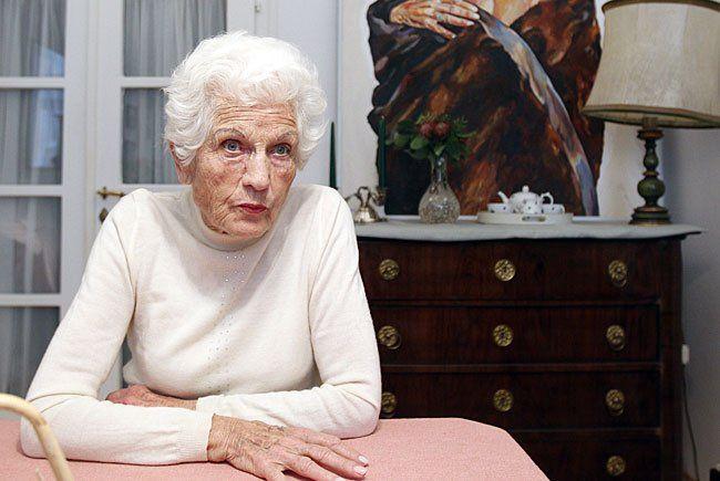 Die erste Parteichefin der Grünen, Freda Meissner-Blau, verstarb kurz vor Weihnachten