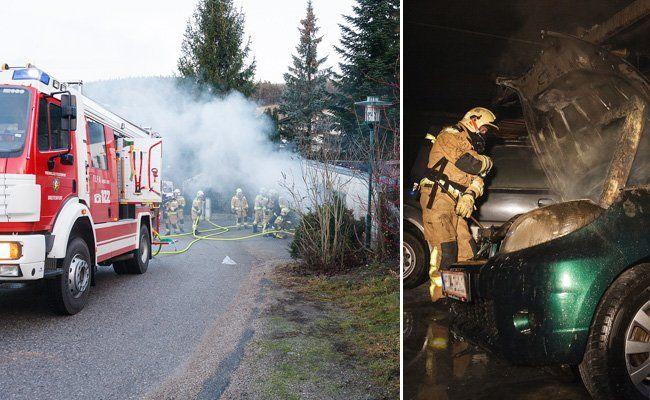Die Freiwillige Feuerwehr in Breitenfurt im Einsatz.