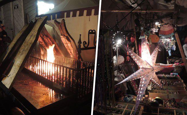 Beim HGM herrschte am Wochenende mittelalterliche Adventstimmung.