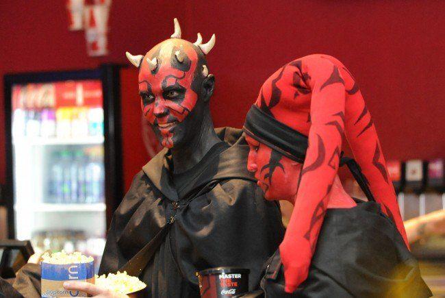 60.000 Star Wars-Fans stürmten am Starttag die Kinos